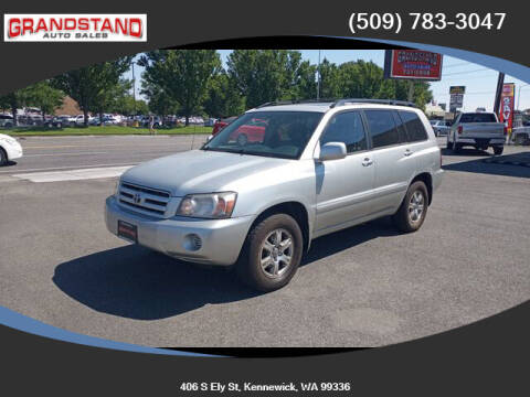2006 Toyota Highlander for sale at Grandstand Auto Sales in Kennewick WA