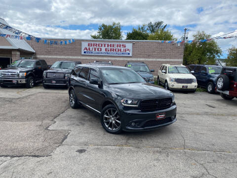 2016 Dodge Durango for sale at Brothers Auto Group in Youngstown OH