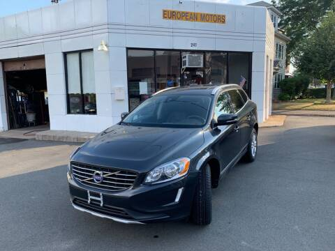 2016 Volvo XC60 for sale at European Motors in West Hartford CT