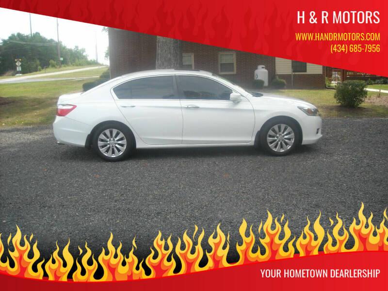 2015 Honda Accord for sale at H & R Motors in Danville VA