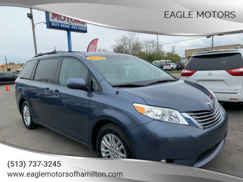 2013 Toyota Sienna for sale at Eagle Motors in Hamilton OH