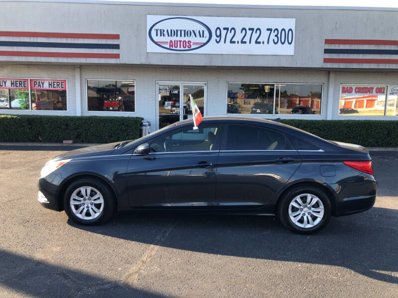 2011 Hyundai Sonata for sale at Traditional Autos in Dallas TX