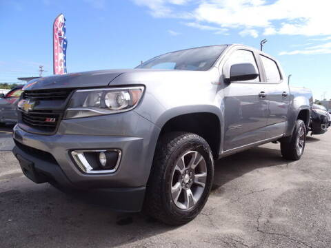 2018 Chevrolet Colorado for sale at KING RICHARDS AUTO CENTER in East Providence RI