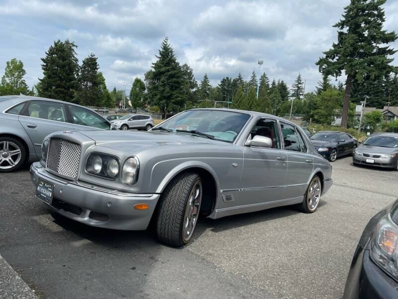 2001 Bentley Arnage for sale at National Motors USA in Federal Way WA