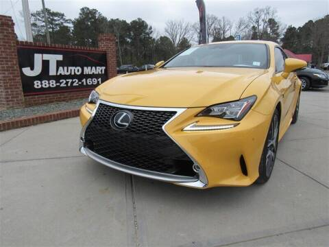 2018 Lexus RC 350 for sale at J T Auto Group in Sanford NC