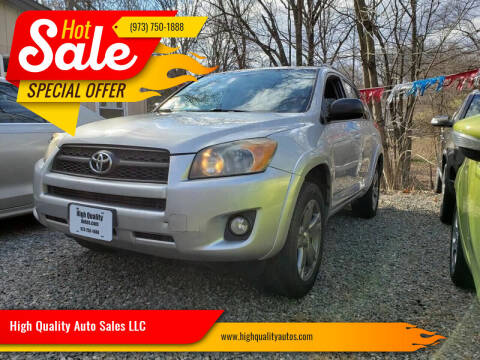2009 Toyota RAV4 for sale at High Quality Auto Sales LLC in Bloomingdale NJ