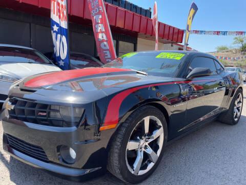 2011 Chevrolet Camaro for sale at Duke City Auto LLC in Gallup NM