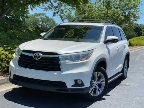 2015 Toyota Highlander for sale at William D Auto Sales in Norcross GA