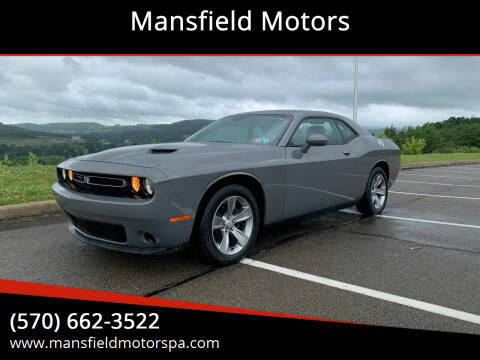 2019 Dodge Challenger for sale at Mansfield Motors in Mansfield PA