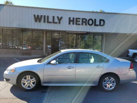 2011 Chevrolet Impala for sale at Willy Herold Automotive in Columbus GA