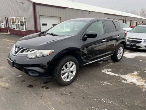 2012 Nissan Murano for sale at Hill Motors in Ortonville MN