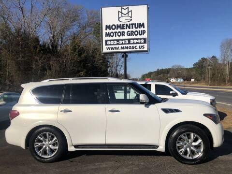 2012 Infiniti QX56 for sale at Momentum Motor Group in Lancaster SC