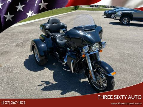 2017 Harley Davidson Tri Glide Ultra for sale at Three Sixty Auto in Elysian MN