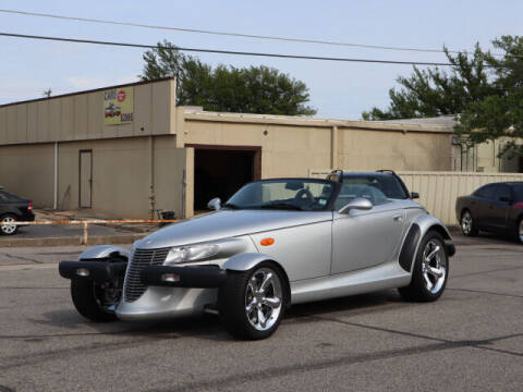 2000 Plymouth Prowler for sale at Iconic Motors of Oklahoma City, LLC in Oklahoma City OK
