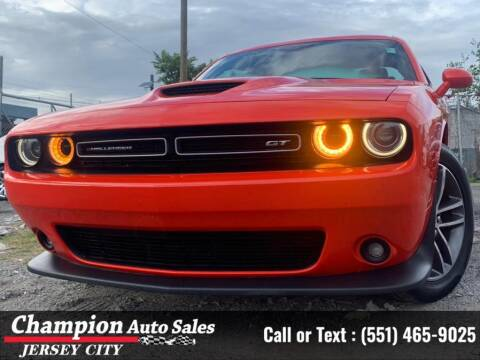 2019 Dodge Challenger for sale at CHAMPION AUTO SALES OF JERSEY CITY in Jersey City NJ