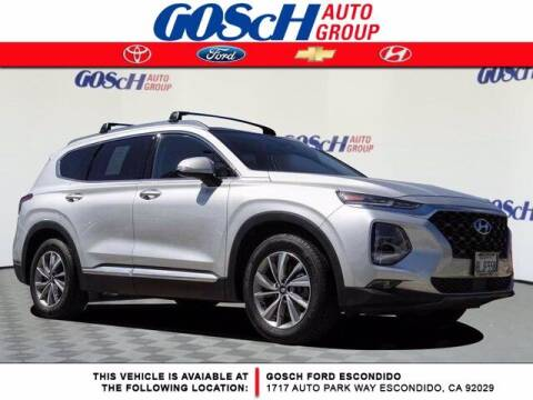2019 Hyundai Santa Fe for sale at BILLY D SELLS CARS! in Temecula CA