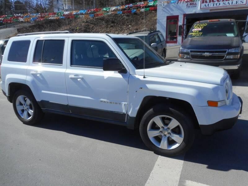 2011 Jeep Patriot for sale at Ricciardi Auto Sales in Waterbury CT