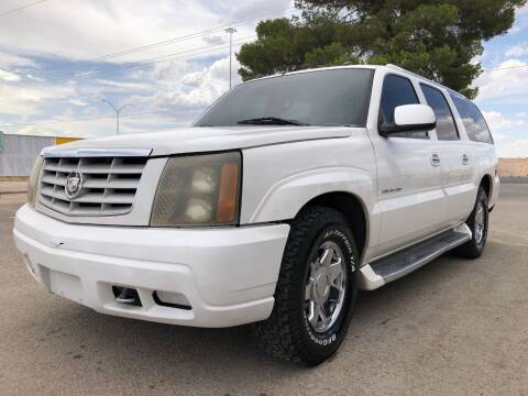 2004 Cadillac Escalade ESV for sale at Eastside Auto Sales in El Paso TX