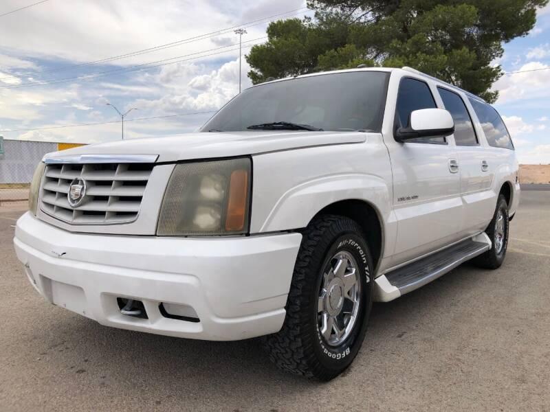 2004 Cadillac Escalade ESV for sale at Eastside Auto Sales in El Paso TX