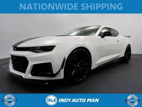 2018 Chevrolet Camaro for sale at INDY AUTO MAN in Indianapolis IN
