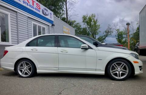 2012 Mercedes-Benz C-Class for sale at Top Line Import of Methuen in Methuen MA