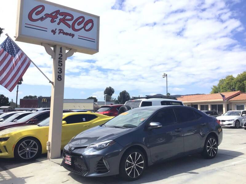 2017 Toyota Corolla for sale at CARCO SALES & FINANCE - CARCO OF POWAY in Poway CA