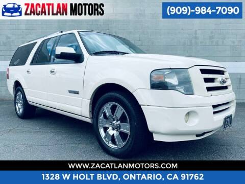 2008 Ford Expedition EL for sale at Ontario Auto Square in Ontario CA
