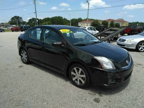 2012 Nissan Sentra for sale at Kelly & Kelly Supermarket of Cars in Fayetteville NC