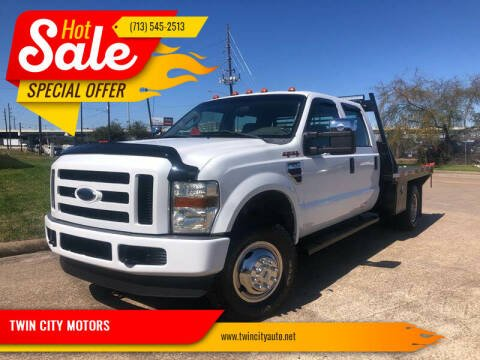2008 Ford F-350 Super Duty for sale at TWIN CITY MOTORS in Houston TX
