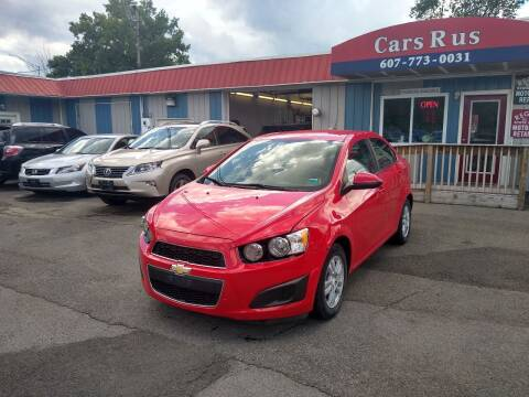 2015 Chevrolet Sonic for sale at Cars R Us in Binghamton NY