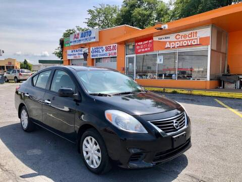 2014 Nissan Versa for sale at AZ AUTO in Carlisle PA