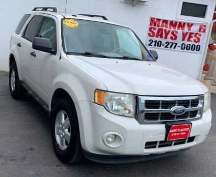 2009 Ford Escape for sale at Manny G Motors in San Antonio TX