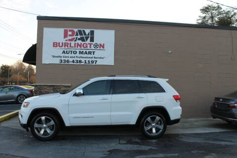 2015 Jeep Grand Cherokee for sale at Burlington Auto Mart in Burlington NC