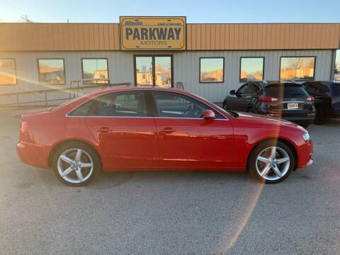 2011 Audi A4 for sale at Parkway Motors in Springfield IL