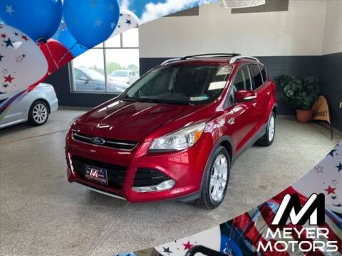 2015 Ford Escape for sale at Meyer Motors in Plymouth WI