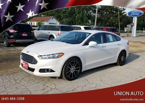 2015 Ford Fusion for sale at Union Auto in Union IA