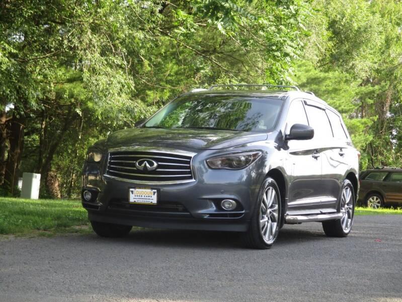 2014 Infiniti QX60 for sale at Loudoun Used Cars in Leesburg VA