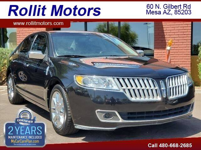 2010 Lincoln MKZ for sale at Rollit Motors in Mesa AZ