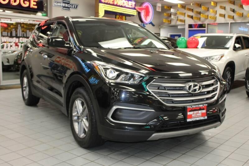 2018 Hyundai Santa Fe Sport for sale at Windy City Motors in Chicago IL