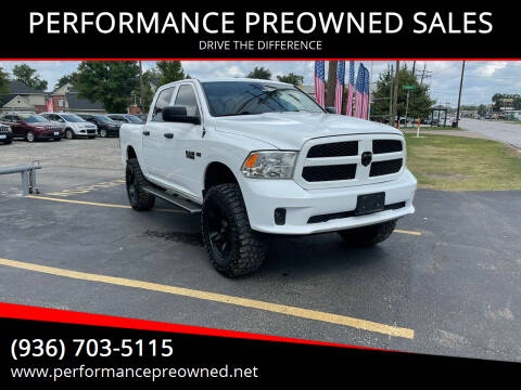 2013 RAM Ram Pickup 1500 for sale at PERFORMANCE PREOWNED SALES in Conroe TX