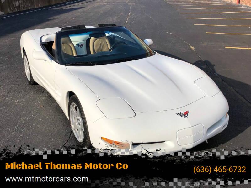 1998 Chevrolet Corvette for sale at Michael Thomas Motor Co in Saint Charles MO