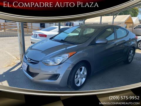 2013 Hyundai Elantra for sale at El Compadre Auto Plaza in Modesto CA