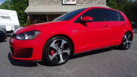 2015 Volkswagen Golf GTI for sale at Driven Pre-Owned in Lenoir NC