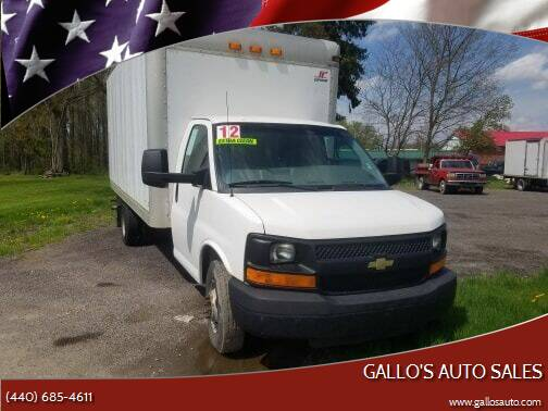 2012 Chevrolet Express Cutaway for sale at Gallo's Auto Sales in North Bloomfield OH
