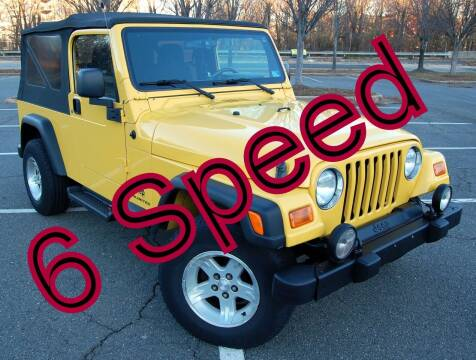 2006 Jeep Wrangler for sale at Bimmer Sales LTD in Great Falls VA