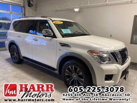 2017 Nissan Armada for sale at Harr's Redfield Ford in Redfield SD