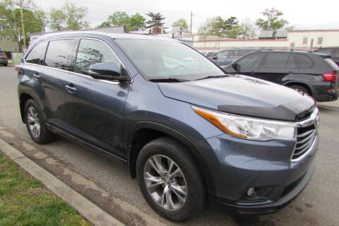 2015 Toyota Highlander for sale at First Choice Automobile in Uniondale NY