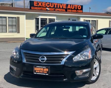 2014 Nissan Altima for sale at Executive Auto in Winchester VA