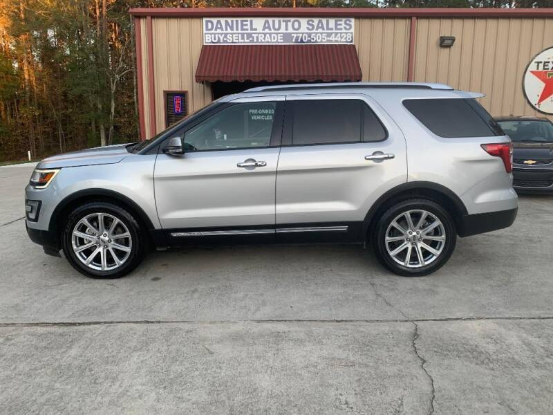 2016 Ford Explorer for sale at Daniel Used Auto Sales in Dallas GA