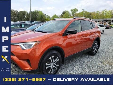 2016 Toyota RAV4 for sale at Impex Auto Sales in Greensboro NC